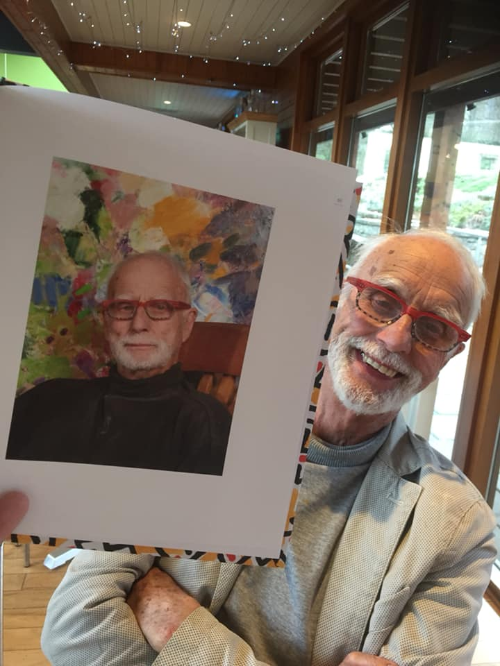 Congratulations to Alan Graham, founder of Saint Patrick's Way for his new art book about his paintings