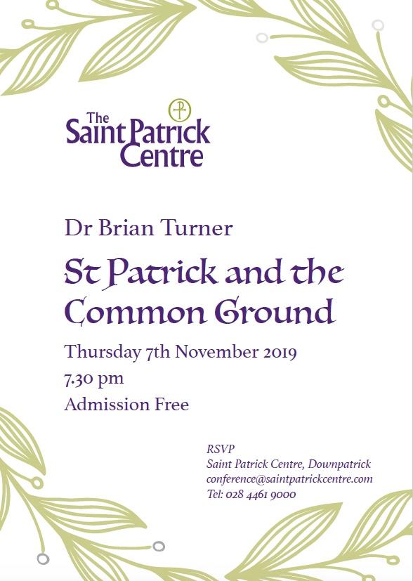 Brian Turner Lecture Nov 2019